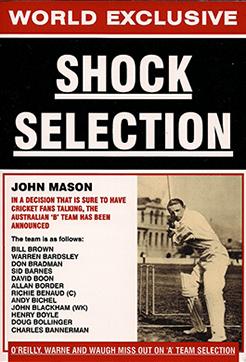 Cricket Shock Selection