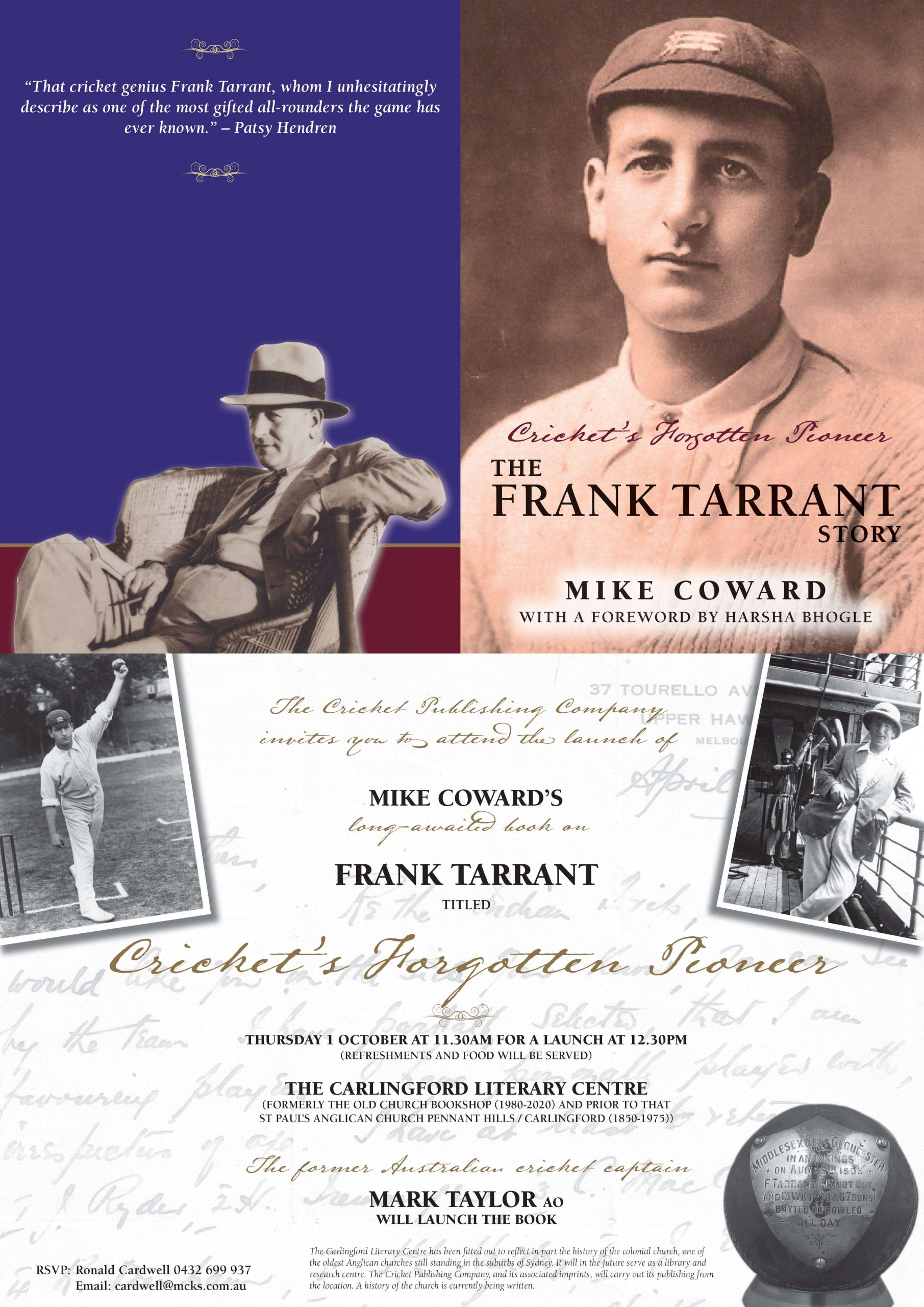 Frank Tarrant - The Cricket Publishing C