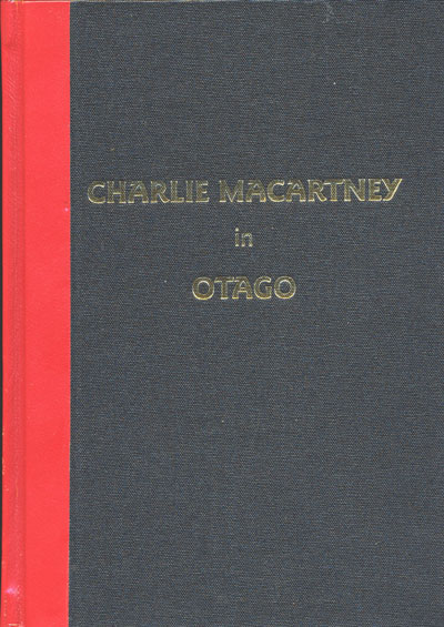 Charlie Macartney in Otago